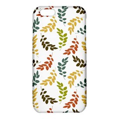 Colorful Leaves Seamless Wallpaper Pattern Background iPhone 6/6S TPU Case