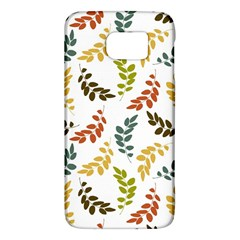 Colorful Leaves Seamless Wallpaper Pattern Background Galaxy S6