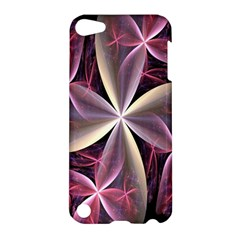 Pink And Cream Fractal Image Of Flower With Kisses Apple iPod Touch 5 Hardshell Case