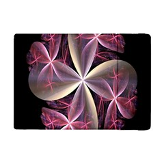 Pink And Cream Fractal Image Of Flower With Kisses Apple iPad Mini Flip Case