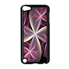 Pink And Cream Fractal Image Of Flower With Kisses Apple iPod Touch 5 Case (Black)