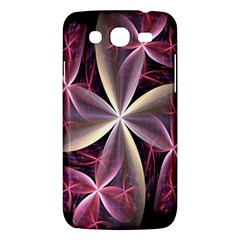 Pink And Cream Fractal Image Of Flower With Kisses Samsung Galaxy Mega 5.8 I9152 Hardshell Case