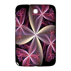 Pink And Cream Fractal Image Of Flower With Kisses Samsung Galaxy Note 8.0 N5100 Hardshell Case