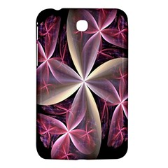 Pink And Cream Fractal Image Of Flower With Kisses Samsung Galaxy Tab 3 (7 ) P3200 Hardshell Case