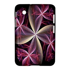 Pink And Cream Fractal Image Of Flower With Kisses Samsung Galaxy Tab 2 (7 ) P3100 Hardshell Case