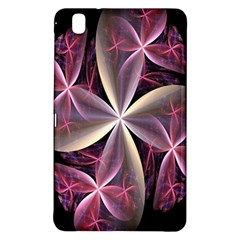 Pink And Cream Fractal Image Of Flower With Kisses Samsung Galaxy Tab Pro 8.4 Hardshell Case