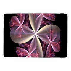 Pink And Cream Fractal Image Of Flower With Kisses Samsung Galaxy Tab Pro 10.1  Flip Case