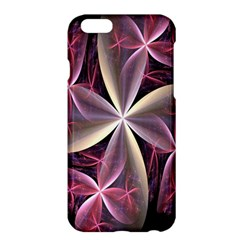 Pink And Cream Fractal Image Of Flower With Kisses Apple iPhone 6 Plus/6S Plus Hardshell Case