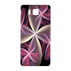 Pink And Cream Fractal Image Of Flower With Kisses Samsung Galaxy Alpha Hardshell Back Case