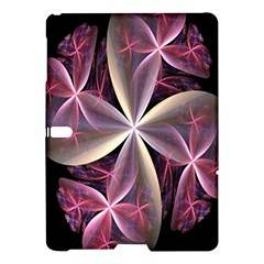 Pink And Cream Fractal Image Of Flower With Kisses Samsung Galaxy Tab S (10.5 ) Hardshell Case