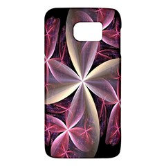 Pink And Cream Fractal Image Of Flower With Kisses Galaxy S6