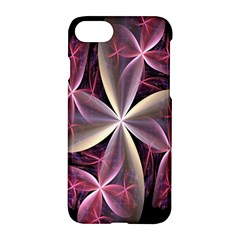Pink And Cream Fractal Image Of Flower With Kisses Apple Iphone 7 Hardshell Case