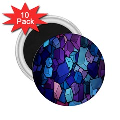 Cubes Vector Art Background 2 25  Magnets (10 Pack)
