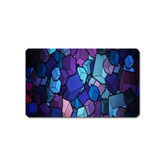 Cubes Vector Art Background Magnet (Name Card)