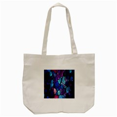 Cubes Vector Art Background Tote Bag (cream)