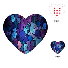 Cubes Vector Art Background Playing Cards (Heart)