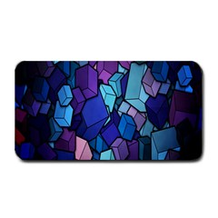 Cubes Vector Art Background Medium Bar Mats