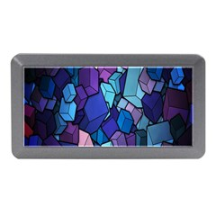 Cubes Vector Art Background Memory Card Reader (mini)