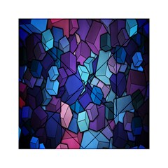 Cubes Vector Art Background Acrylic Tangram Puzzle (6  X 6 )