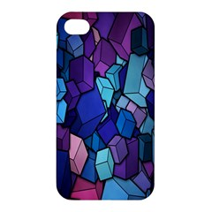 Cubes Vector Art Background Apple iPhone 4/4S Premium Hardshell Case