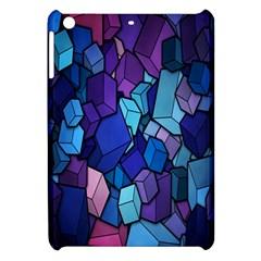 Cubes Vector Art Background Apple iPad Mini Hardshell Case