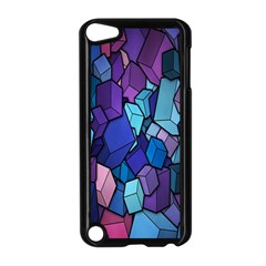 Cubes Vector Art Background Apple Ipod Touch 5 Case (black)