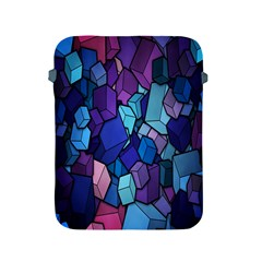Cubes Vector Art Background Apple iPad 2/3/4 Protective Soft Cases