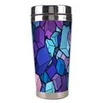 Cubes Vector Art Background Stainless Steel Travel Tumblers Center