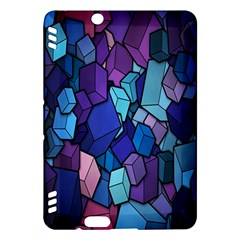 Cubes Vector Art Background Kindle Fire HDX Hardshell Case