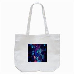 Cubes Vector Art Background Tote Bag (White)