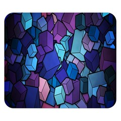 Cubes Vector Art Background Double Sided Flano Blanket (small)