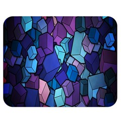 Cubes Vector Art Background Double Sided Flano Blanket (medium)