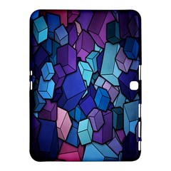Cubes Vector Art Background Samsung Galaxy Tab 4 (10 1 ) Hardshell Case