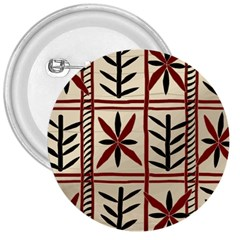 Abstract A Colorful Modern Illustration Pattern 3  Buttons