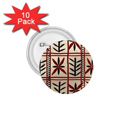 Abstract A Colorful Modern Illustration Pattern 1.75  Buttons (10 pack)