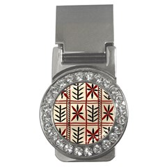 Abstract A Colorful Modern Illustration Pattern Money Clips (cz)