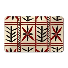 Abstract A Colorful Modern Illustration Pattern Magnet (rectangular)