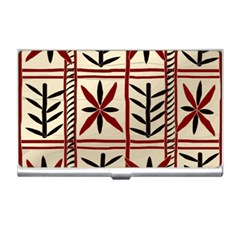 Abstract A Colorful Modern Illustration Pattern Business Card Holders