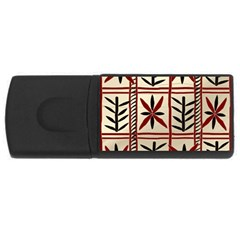 Abstract A Colorful Modern Illustration Pattern Usb Flash Drive Rectangular (4 Gb)