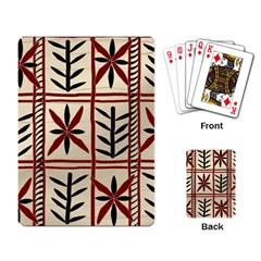 Abstract A Colorful Modern Illustration Pattern Playing Card
