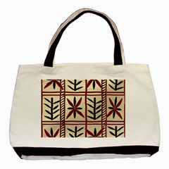 Abstract A Colorful Modern Illustration Pattern Basic Tote Bag (two Sides)