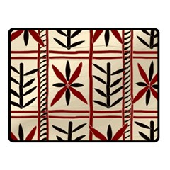 Abstract A Colorful Modern Illustration Pattern Fleece Blanket (small)