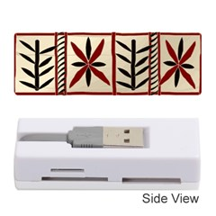 Abstract A Colorful Modern Illustration Pattern Memory Card Reader (stick)