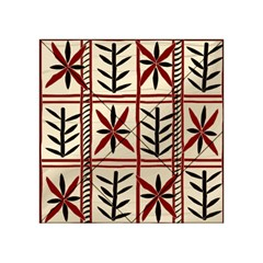 Abstract A Colorful Modern Illustration Pattern Acrylic Tangram Puzzle (4  x 4 )