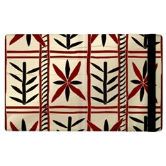 Abstract A Colorful Modern Illustration Pattern Apple iPad 2 Flip Case