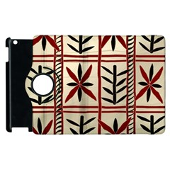 Abstract A Colorful Modern Illustration Pattern Apple iPad 2 Flip 360 Case