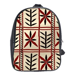 Abstract A Colorful Modern Illustration Pattern School Bags (xl)