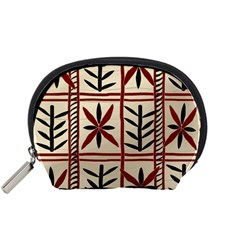 Abstract A Colorful Modern Illustration Pattern Accessory Pouches (Small)