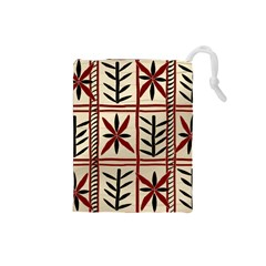 Abstract A Colorful Modern Illustration Pattern Drawstring Pouches (Small)