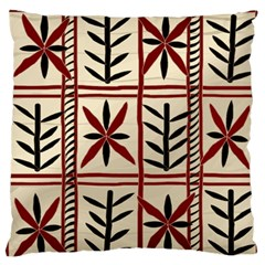 Abstract A Colorful Modern Illustration Pattern Large Flano Cushion Case (One Side)